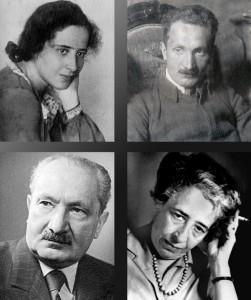 Arendt et Heidegger