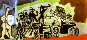 La guerra (1952) / PICASSO