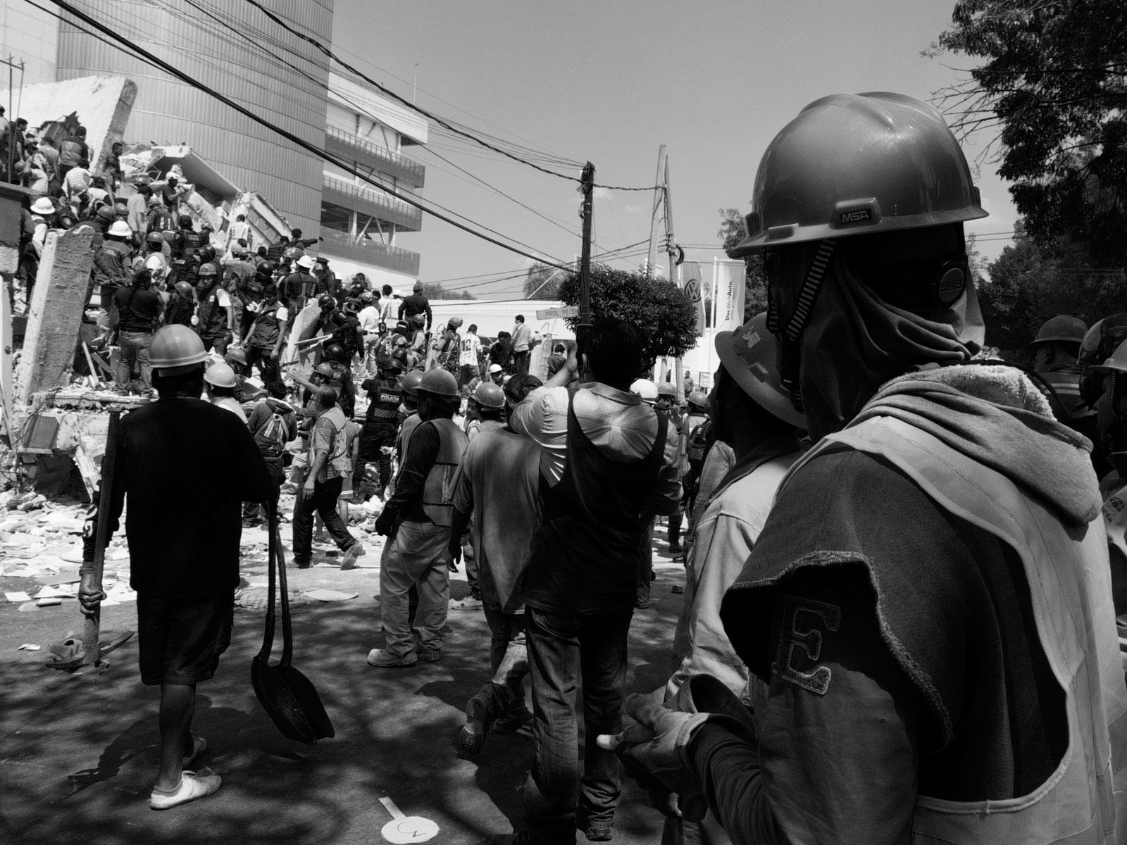 19/9/2017. Col. del Valle, CDMX. Argel Ahumada.