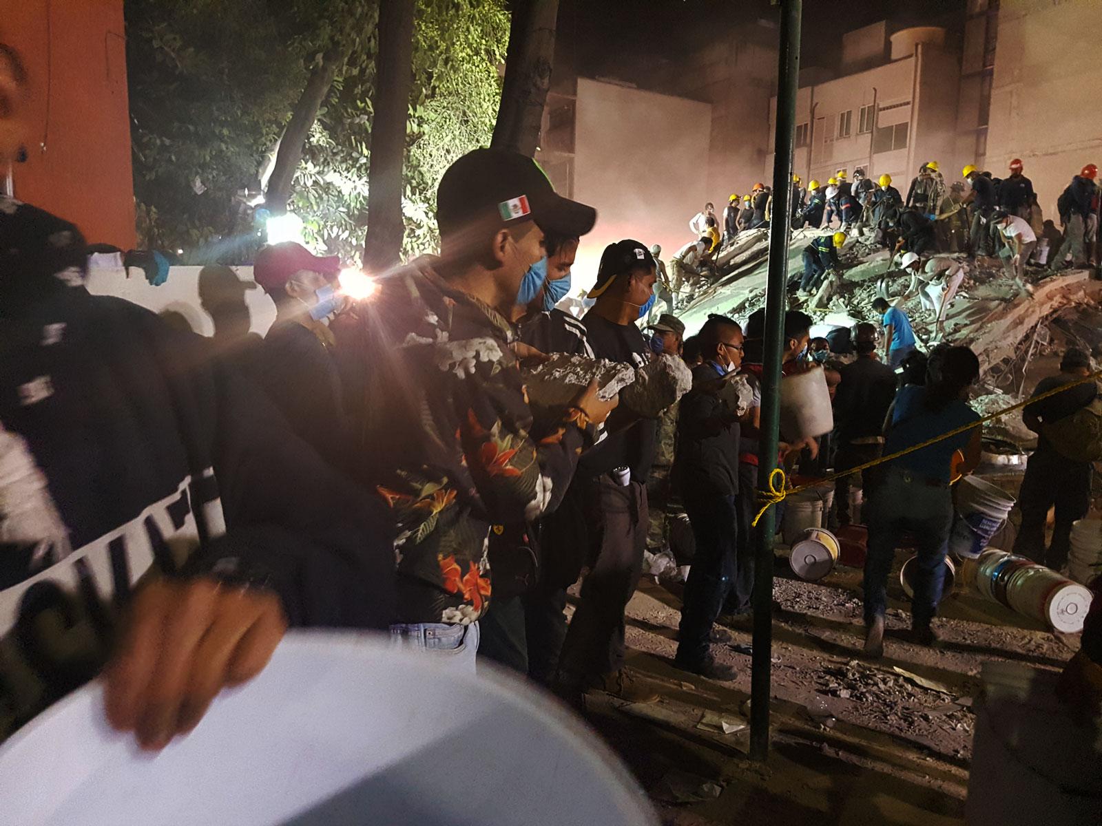 19/9/2017. Piedad Narvarte, CDMX. Augusto Reyes.